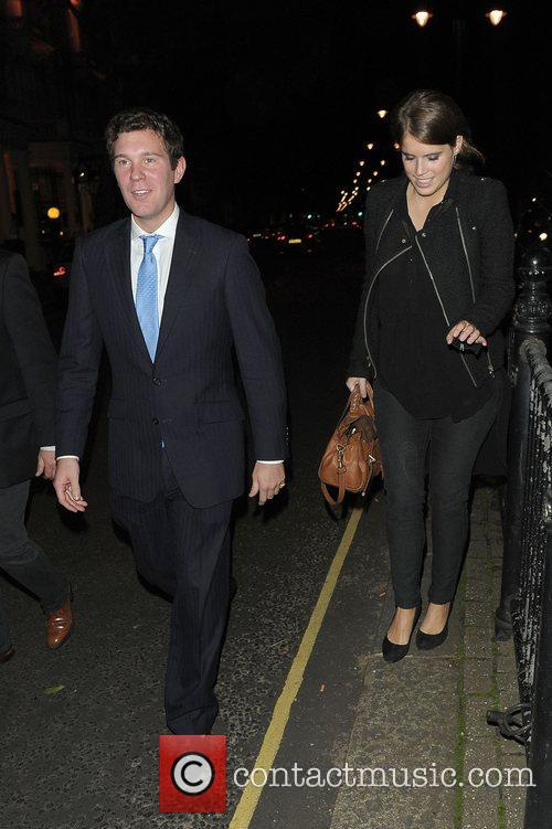 Princess Eugenie at the Beulah London and Hennessy...