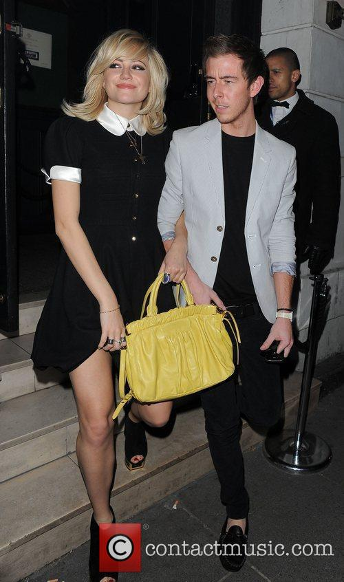 Pixie Lott leaving The Brompton Club.