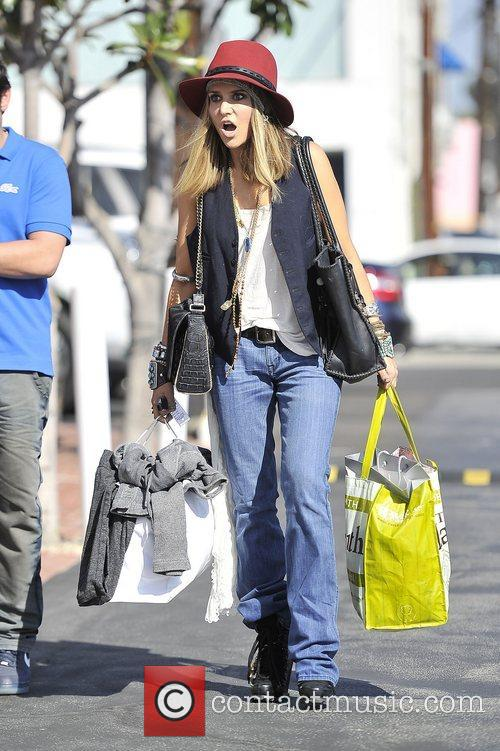 Brooke Mueller, Fred Segal and West Hollywood 7