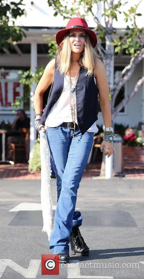 Brooke Mueller, Fred Segal, West Hollywood