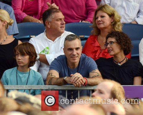 Daniel Day Lewis, Bruce Springsteen and Rebecca Miller 2