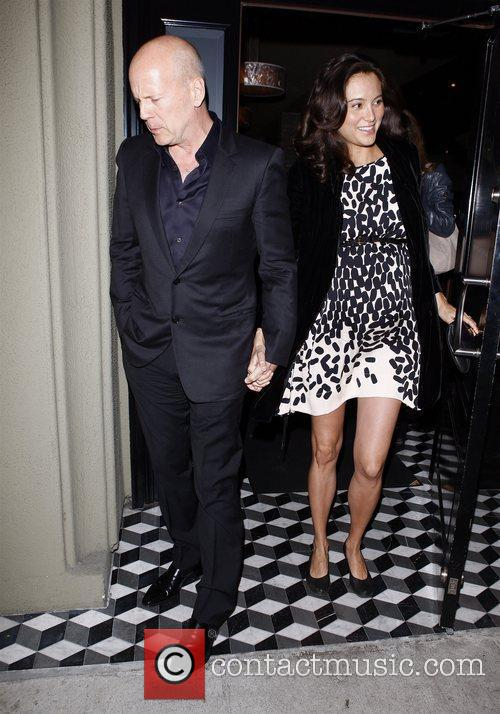 Bruce Willis and Emma Heming 3