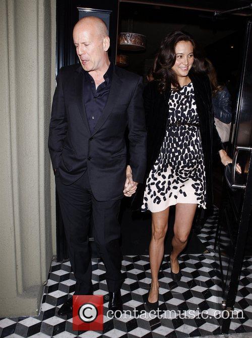 Bruce Willis and Emma Heming 4