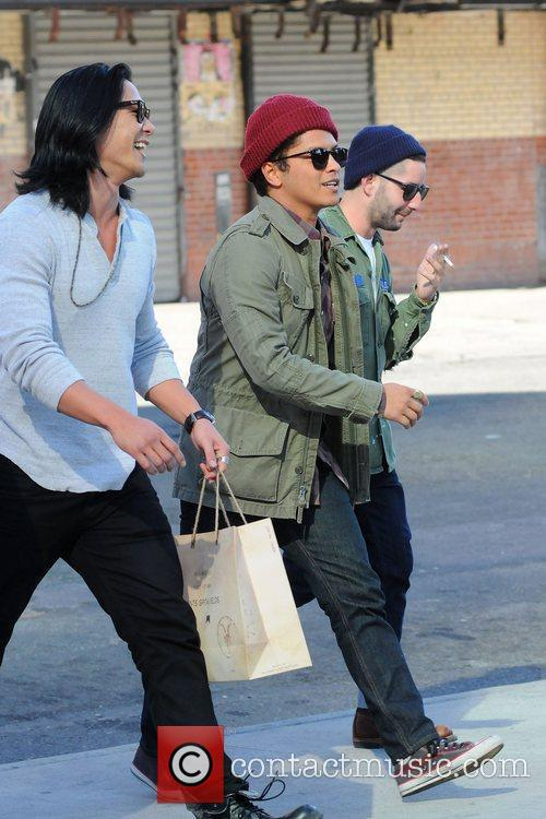 bruno mars out and about in manhattan 3814034