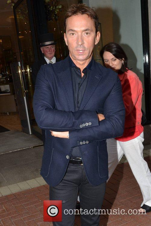 Dancing With The Stars' Bruno Tonioli spotted outside...