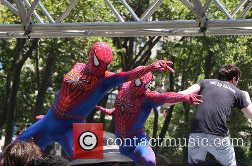 Spider Man and Bryant Park 1