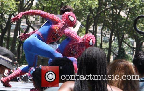 Spider Man and Bryant Park 2