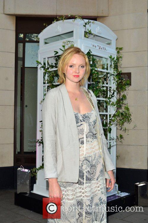 Lily Cole and Dorchester Hotel 5