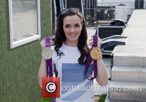 Victoria Pendleton who won a gold medal at...