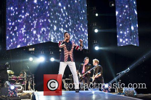 Duran Duran  performs duriing the 2012 BT...