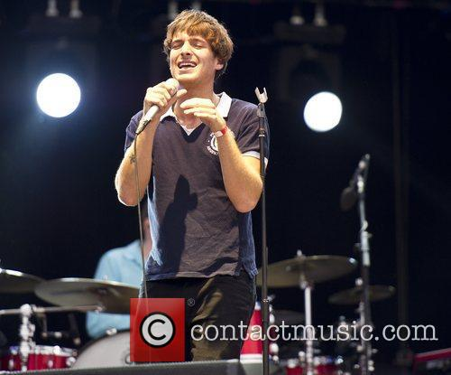 Paolo Nutini performs during the 2012 BT London...