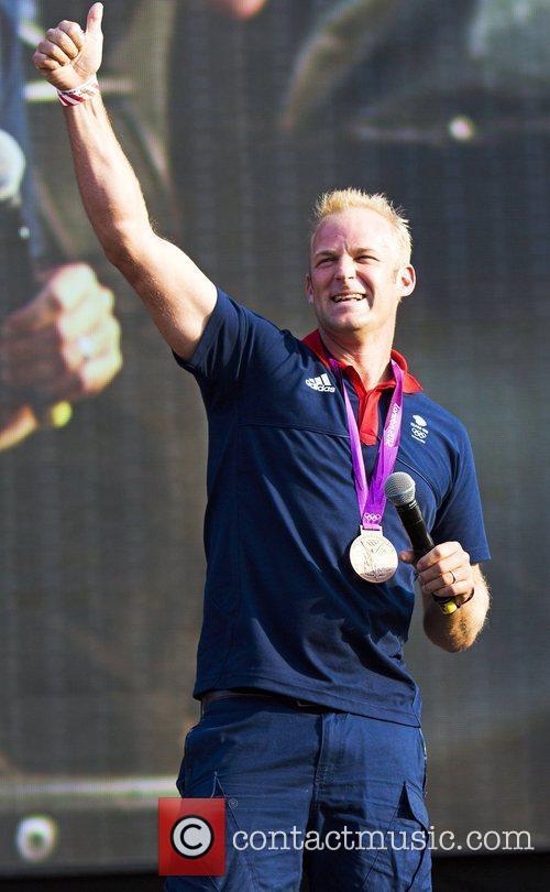 Bronze Medallist winner Alex Partridge Olympic medallist winners...