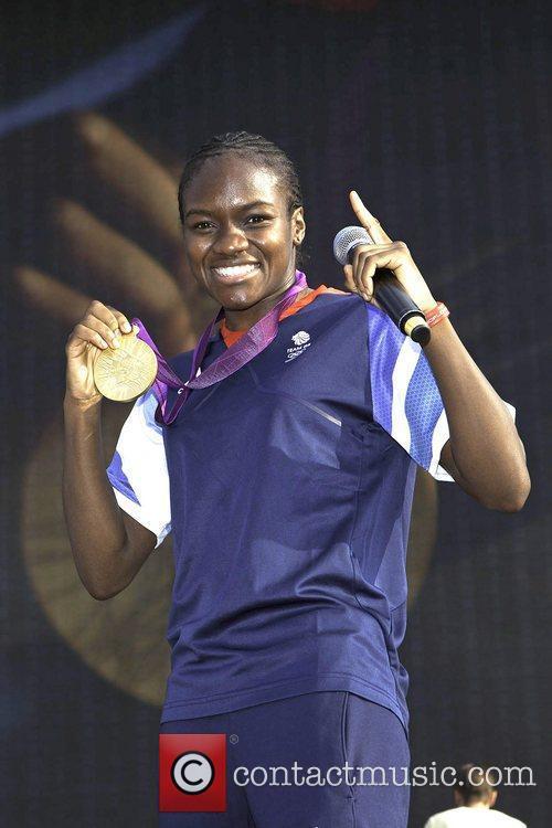 Gold Medallist winner Nicola Adams Olympic medallist winners...