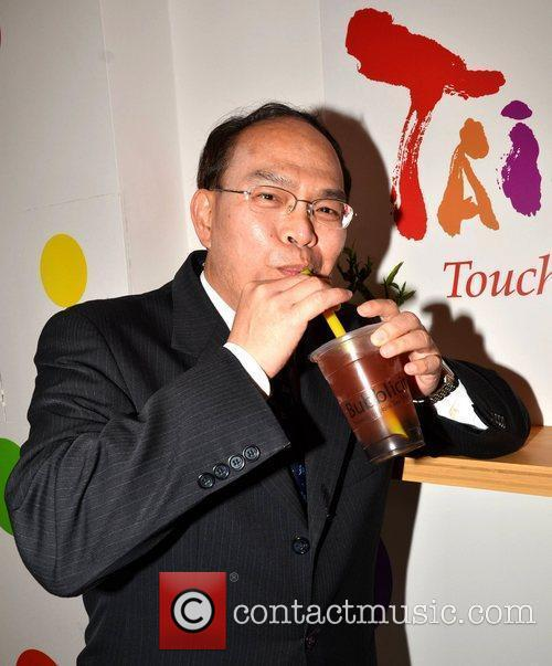 Taiwan's Ambassador to Ireland Dr. Harry Ho-Jen Tseng...