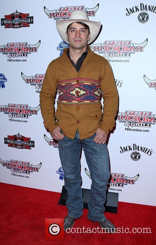 Chad Besplug Professional Bull Rider Superstars walk the...