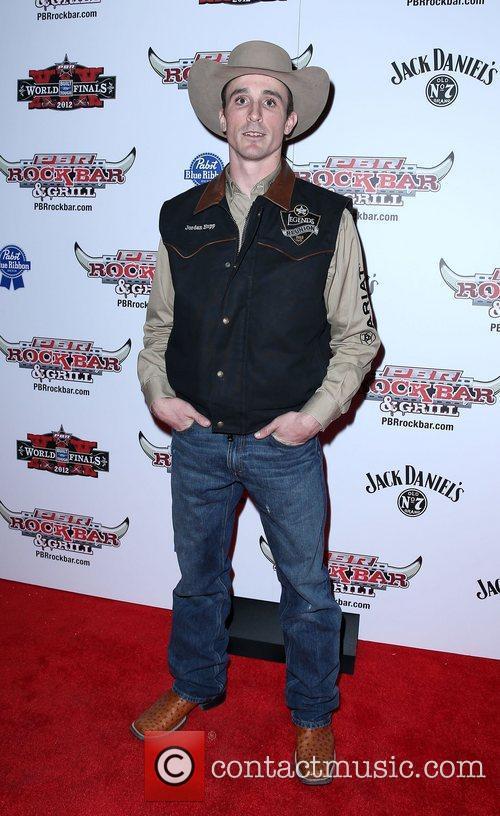Jordan Hupp Professional Bull Rider Superstars walk the...