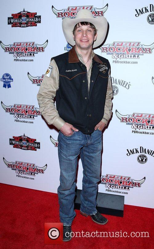Justin Koon Professional Bull Rider Superstars walk the...