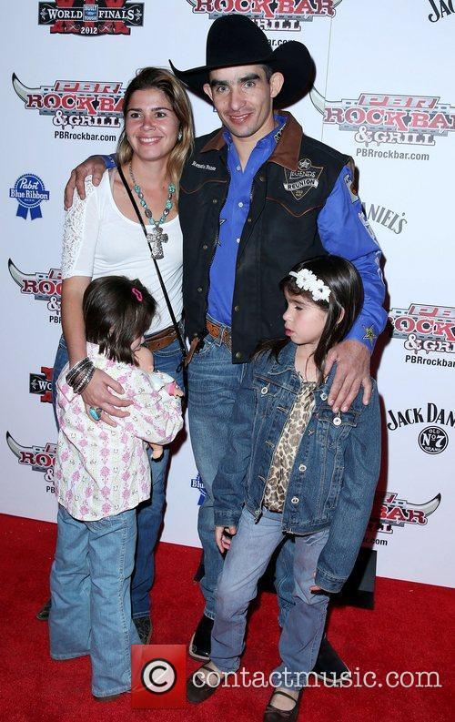 Renato Nunes and family Professional Bull Rider Superstars...