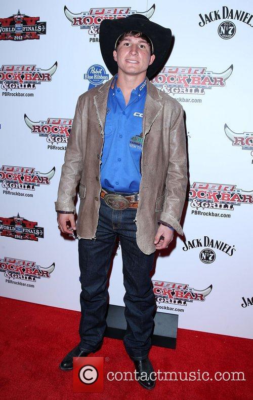 Ryan Dirteater Professional Bull Rider Superstars walk the...
