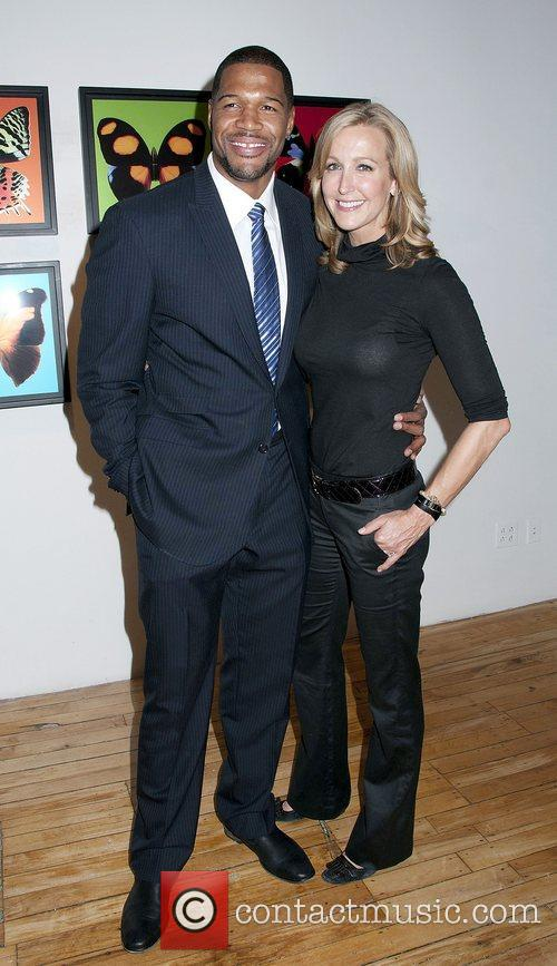 Michael Strahan and Lara Spencer 2