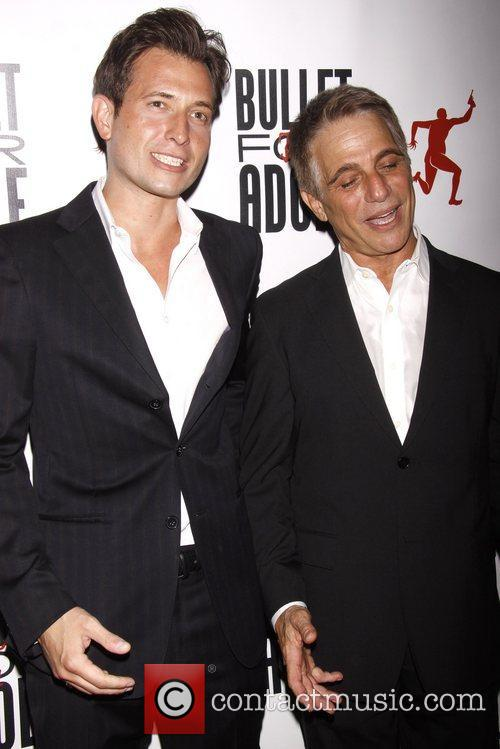 Attends 'Bullet For Adolf' Off Broadway Opening Night...
