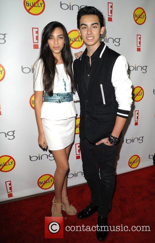 Brandon and Savannah Los Angeles Premiere of 'Bully'...