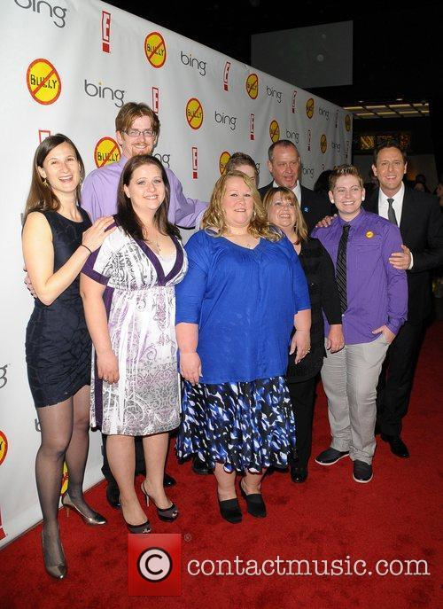 Families in Bully with Lee Hirsch Los Angeles...
