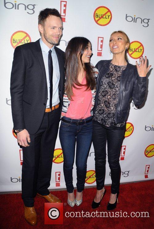 Joel Mchale, Giuliana Depandi and Victoria Justice 1