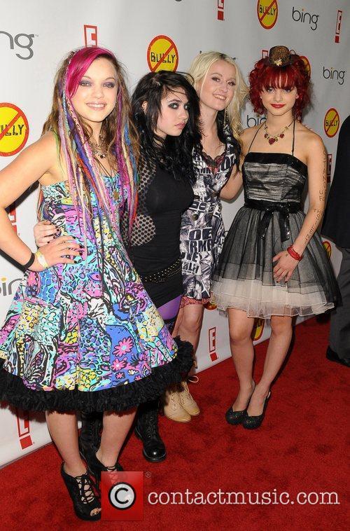 Pop Group: Cherri Bomb Los Angeles Premiere of...