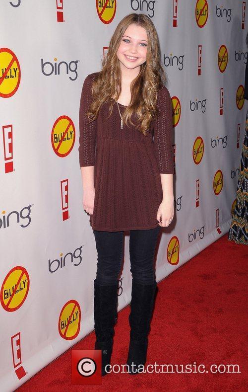 Sammi Hanratty Los Angeles Premiere of 'Bully' held...