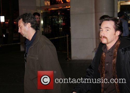 Cast Member on the film set of 'Burt...