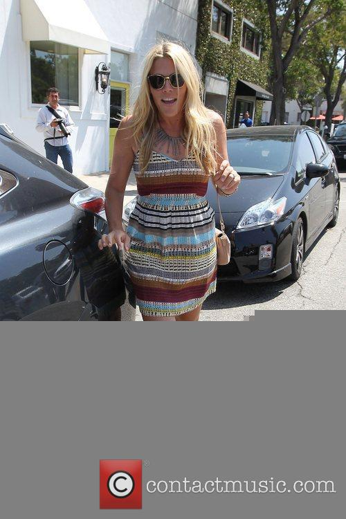 Busy Philipps leaving a building in Beverly Hills...