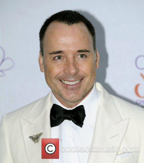 David Furnish,  atThe Diamond Butterfly Ball in...