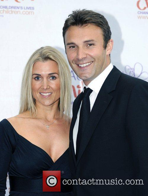 Jonathan Wilkes and guest,  atThe Diamond Butterfly...