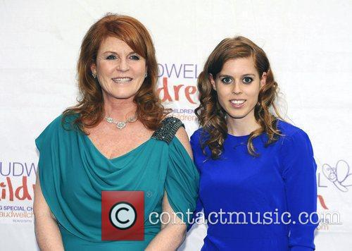 Sarah Ferguson and Princess Beatrice 3