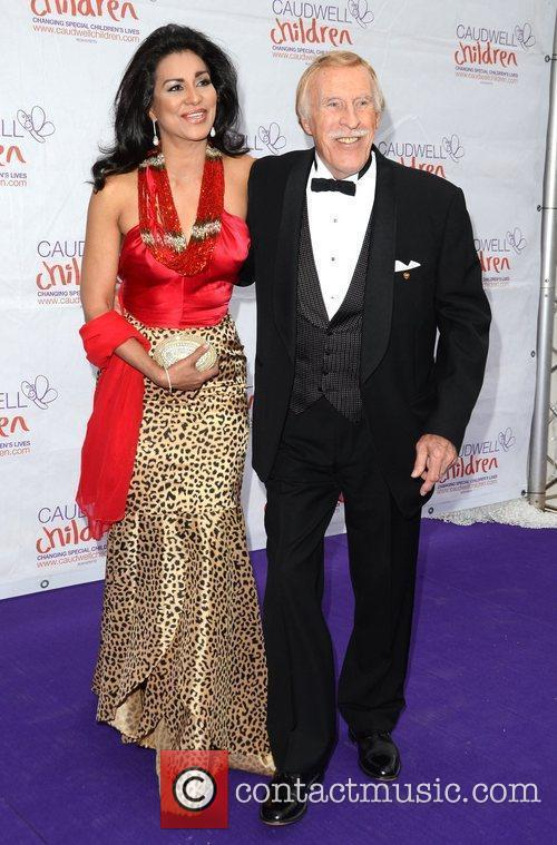 Bruce Forsyth and wife Wilnelia Merced The Caudwell...