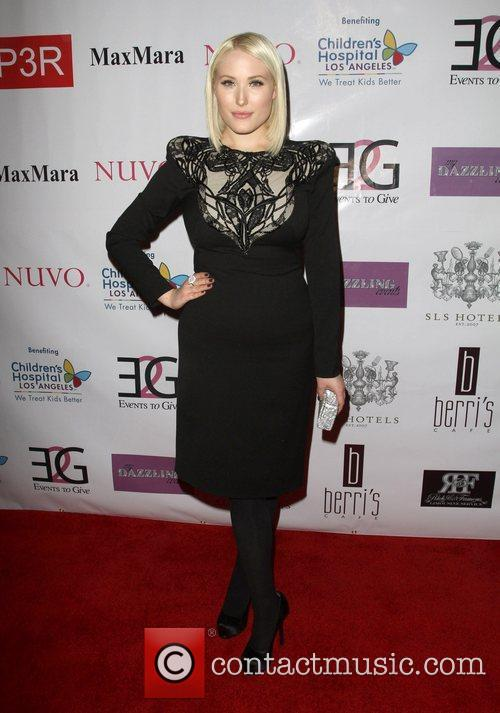 Hayley Hasselhoff The Butterfly Gala Benefiting Children's Hospital...