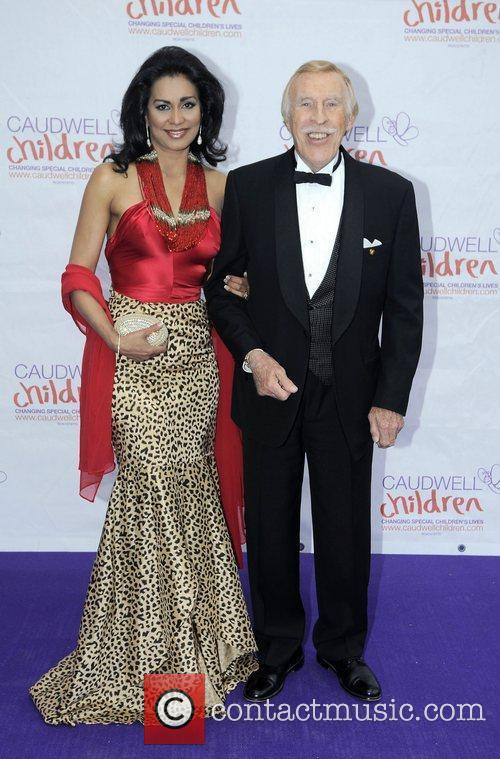 Bruce Forsyth and wife Wilnelia Caudwell Children Diamond...