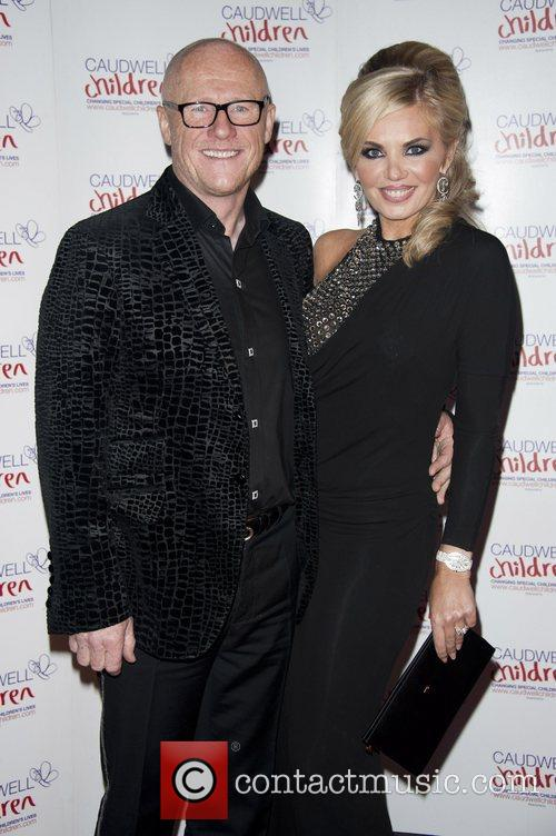 Guests Caudwell Children Winter Butterfly Ball held at...