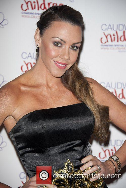 Michelle Heaton Caudwell Children Winter Butterfly Ball held...
