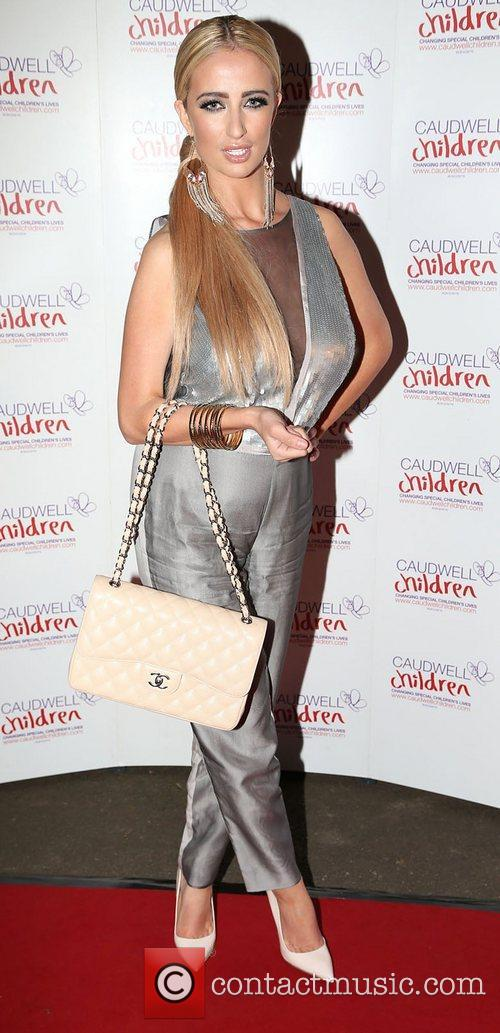 Chantelle Houghton at the  Caudwell Children Winter...