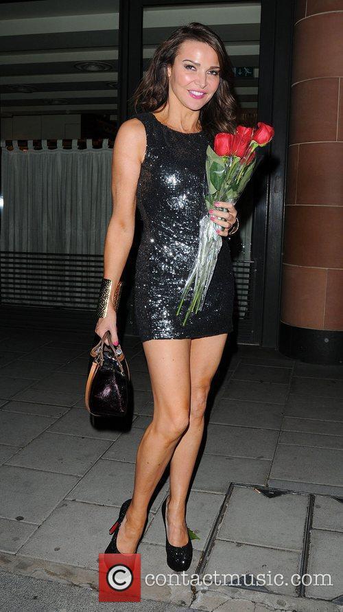Lizzie Cundy leaving C London Restaurant,  London,...