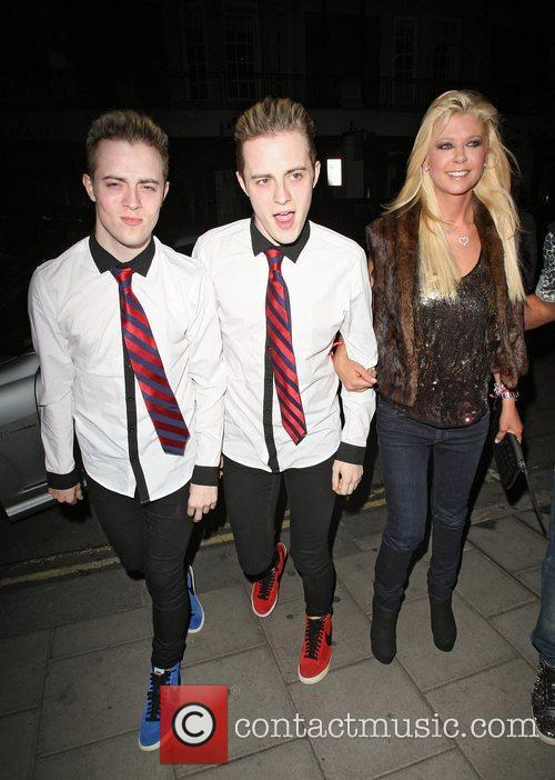 Grimes, Jedward and Tara Reid 2