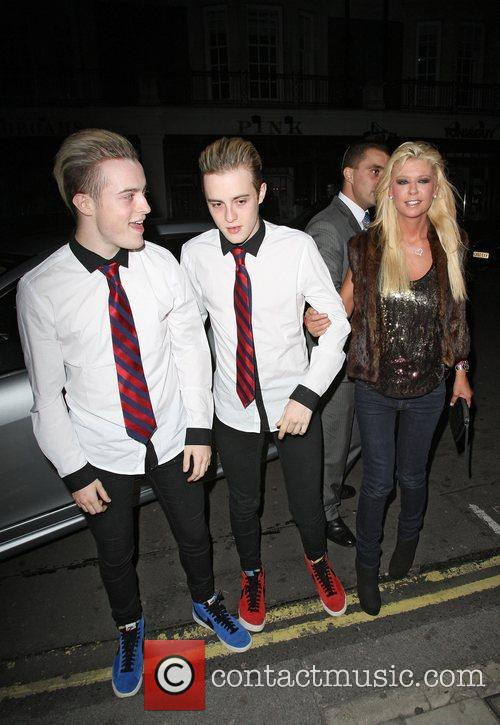 Grimes, Jedward and Tara Reid 3