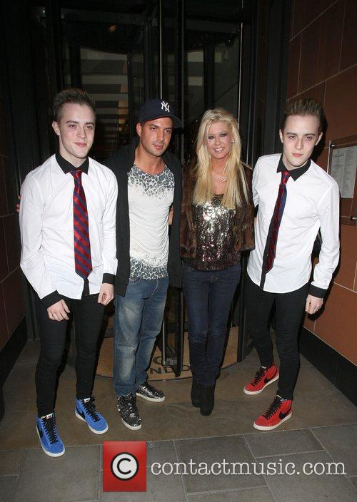 Grimes, Jedward and Tara Reid 4