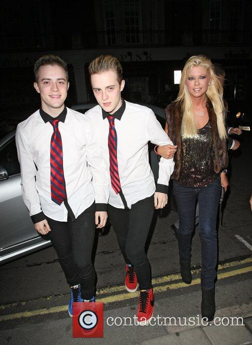 Grimes, Jedward and Tara Reid 5