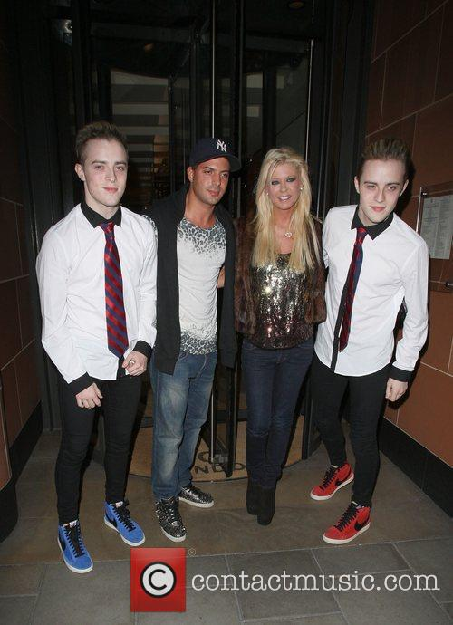 Grimes, Jedward and Tara Reid 1