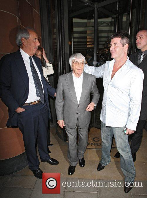 Simon Cowell and Bernie Ecclestone 2