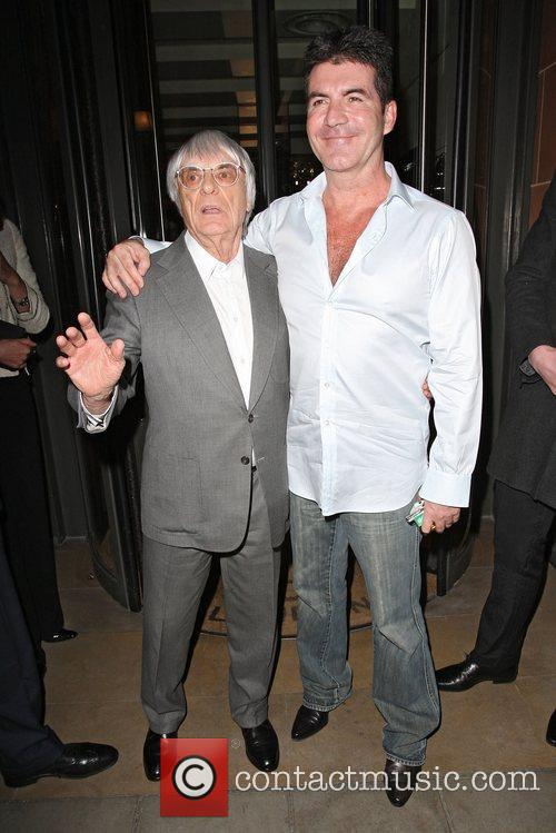 Simon Cowell and Bernie Ecclestone 3