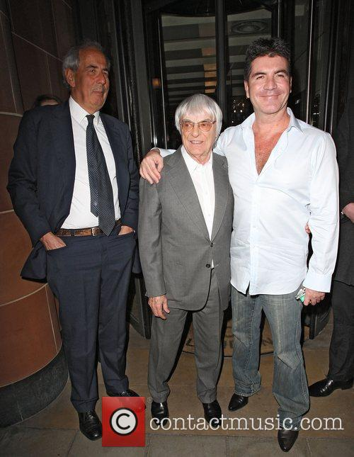 Simon Cowell and Bernie Ecclestone 5